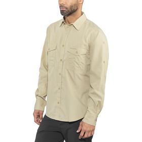 Craghoppers Kiwi Camisa de manga larga Hombre, oatmeal